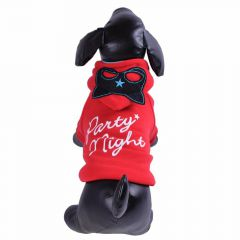 "Chaqueta para perro ""Party Night"" roja"