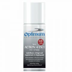 Aceite y refrigerante en spray Optimum 150 ml, 4 en 1